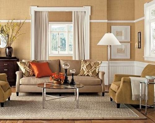 客厅窗帘颜色如何搭配