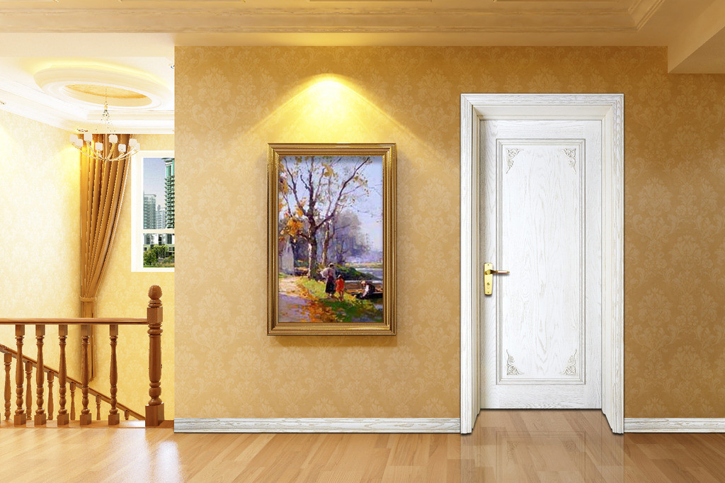 室內門種類及顏色搭配知識