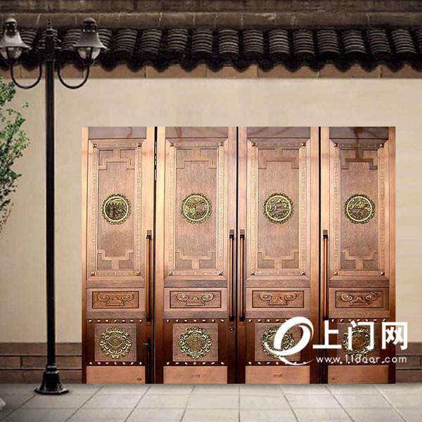 金星铜铜门