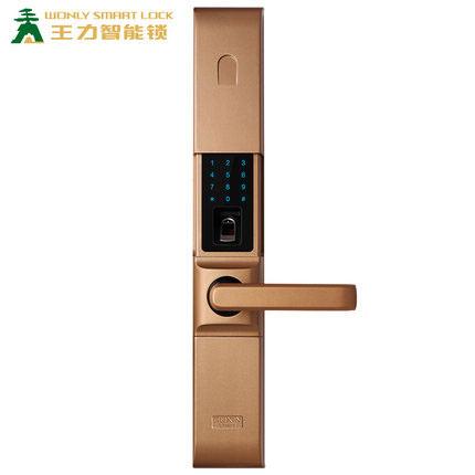 王力智能指紋鎖家用防盜門鎖Z102-APP-O2O