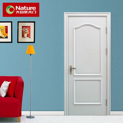大自然實木復合臥室門圖片