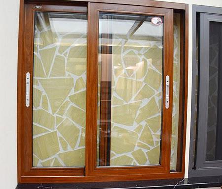 铝合金门窗制作细节