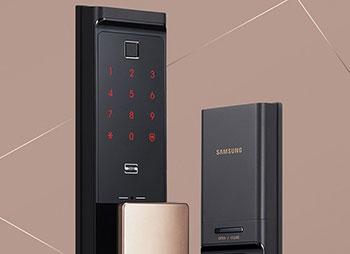 三星智能锁价格:双十二三星指纹锁SHP-DR708京东预售3530元