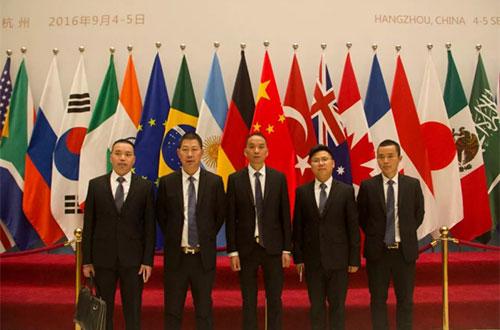 君格门业在杭州G20峰会