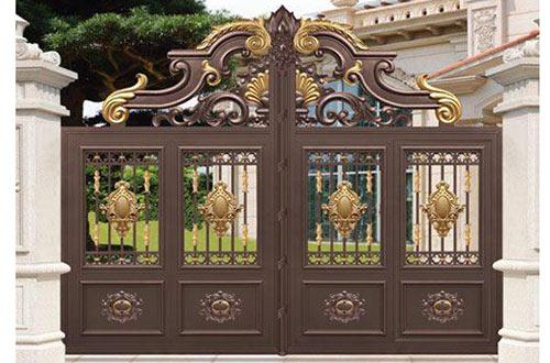 鋁藝庭院大門好嗎 鋁藝庭院大門制作和工藝