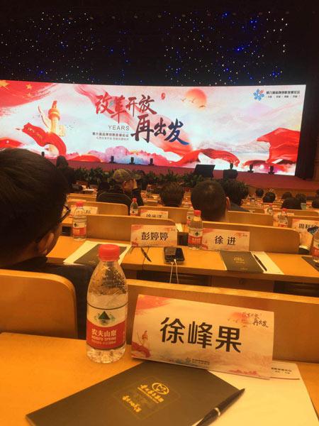 第六届品牌创新发展论坛图片