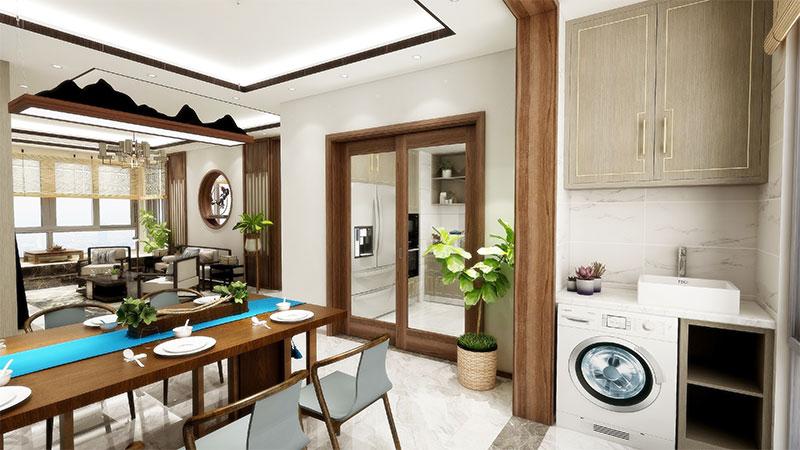 艺龙平仄设计风格-餐厅