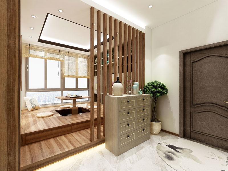 艺龙平仄设计风格-门厅