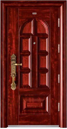 外鋼內木雙色門