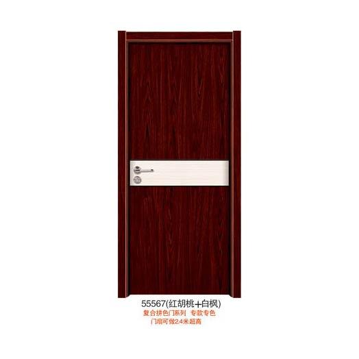 实木复合拼将地上色门