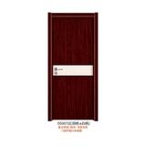 实木复合拼色门(55567(红胡桃+白枫))