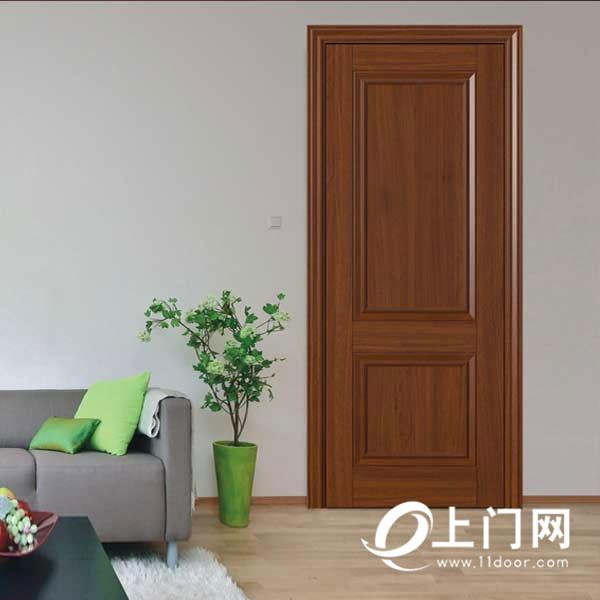夢天金絲柚飽滿木門-簡歐式油漆門