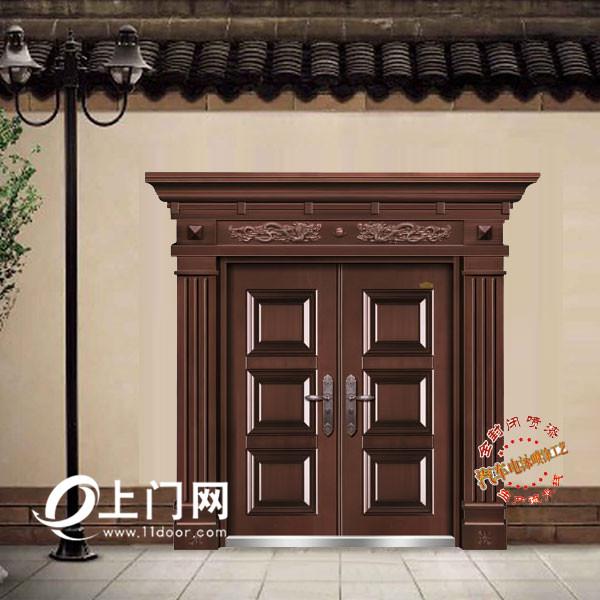 三才对开门_【仿紫铜】13-NNH-BDM7052