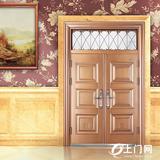 盼盼防盗门_54花对开门