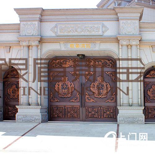 银盾斯金铜门